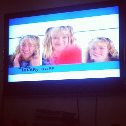 Lizzie McGuire is on! #BLESSS🙏