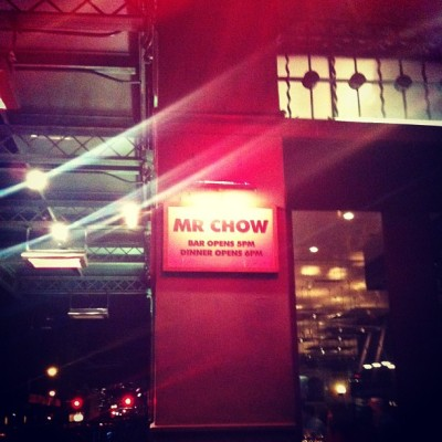 Valentine Day Dinner at MR CHOW TriBeCa. #mrchow #tribeca #nyc #dinner  (at Mr Chow - Tribeca)