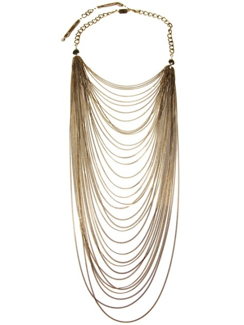 Fashion Crush: Stataments Necklaces.  Multi-Strand Necklace by Rosantica