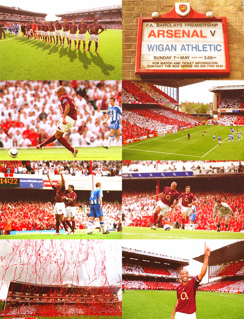 rosickys:  May 7, 2006: Farewell to Highbury (Arsenal 4 - 2 Wigan)
