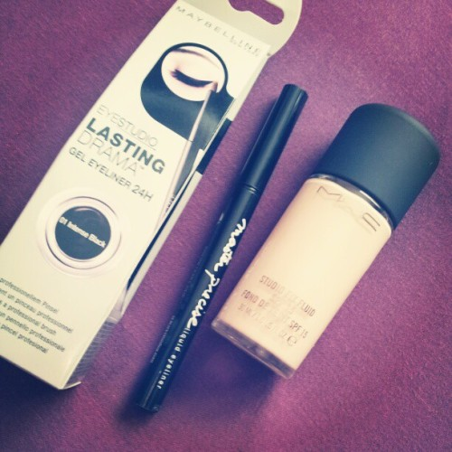 Today's haul #mac #nw10 #pale #foundation #mua #maybelline #haul