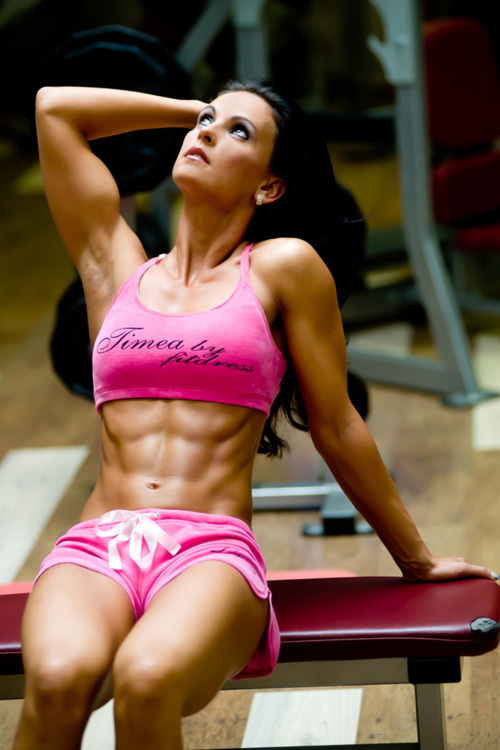 sexygymbabe:  Hardbody Hotties rocking their muscles and toned bodies! Updated Daily!