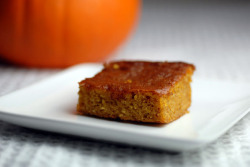 gluten free pumpkin bars by elana's pantry on Flickr.