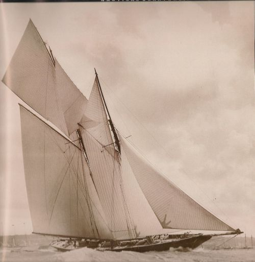boatporn:   The schooner Rainbow.