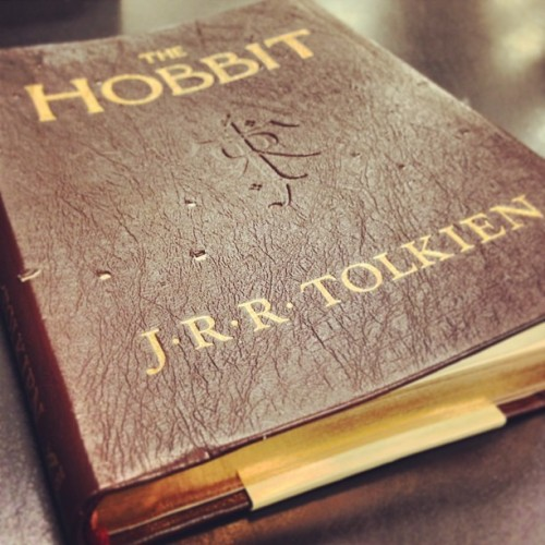 jchaike:  Such a cool book bindin #thehobbit #hobbit #lotr