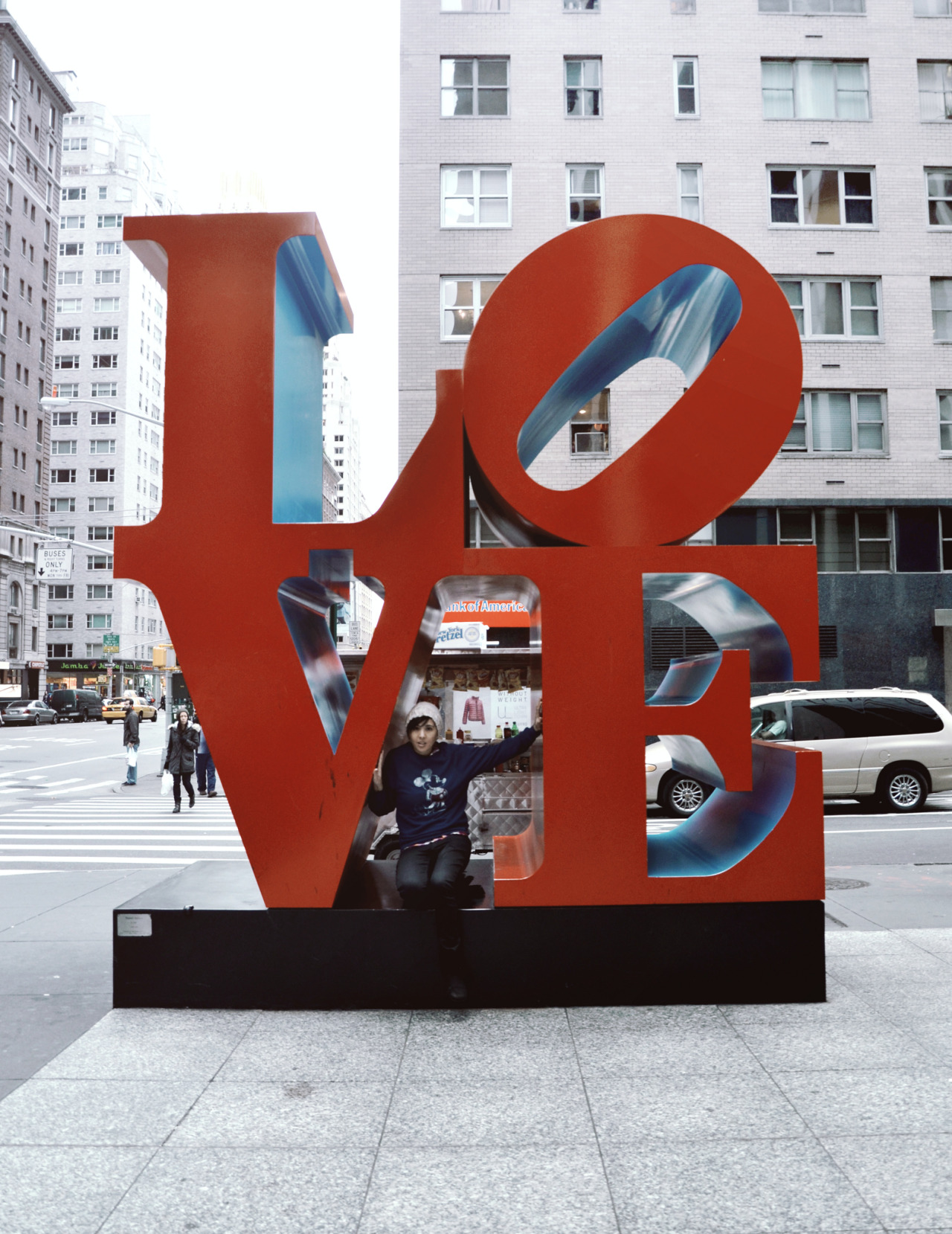 All you need is a little LOVE | Taken in New York city