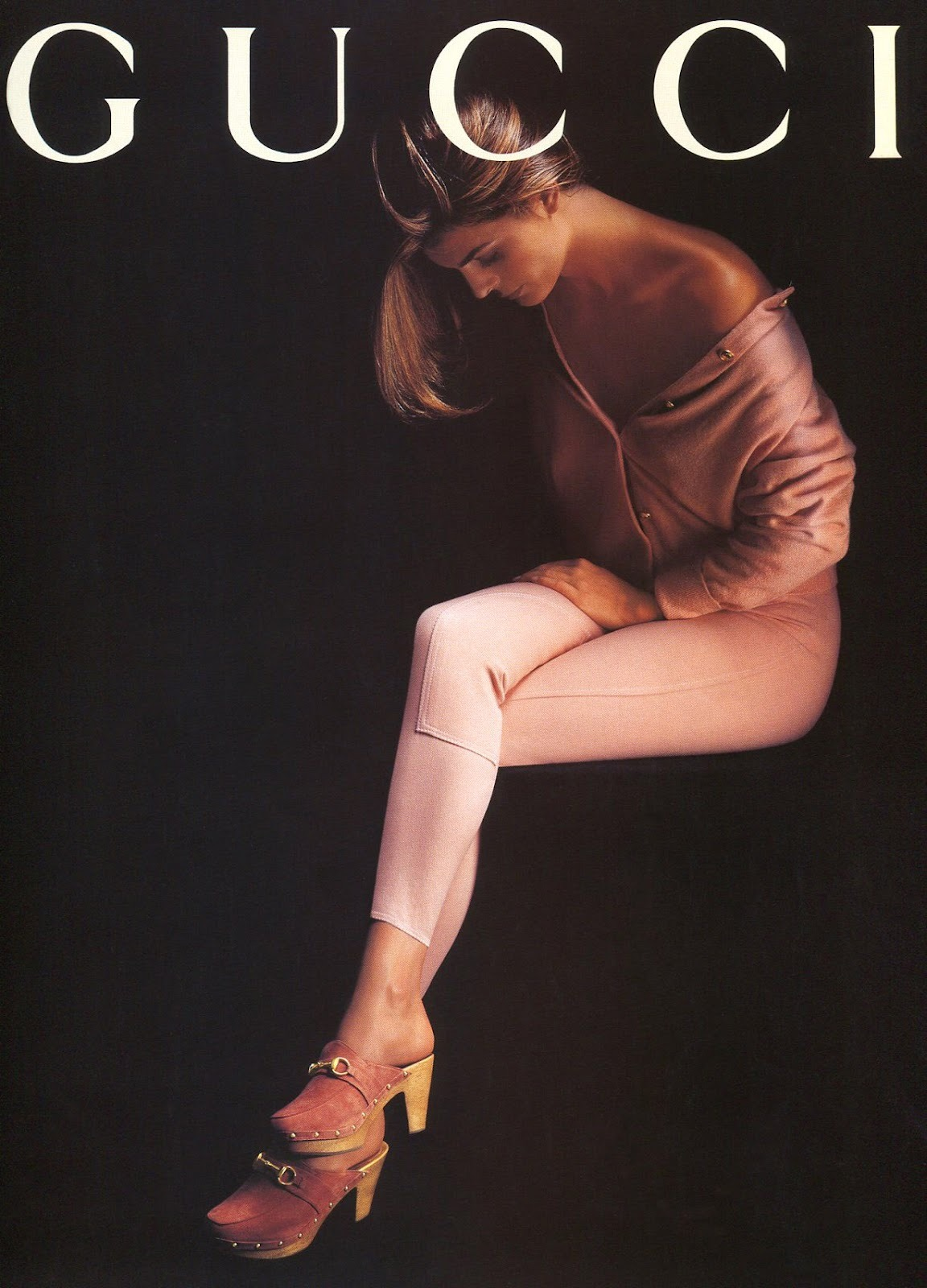 80s-90s-supermodels:  Gucci 1993Model : Stephanie Romanov