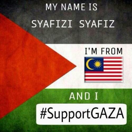 SUPPORT #savegaza #prayforGaza #supportGaza  #Malaysia #2014. #vscocam #instavscocam