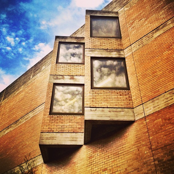 Windows. (at University of Melbourne)