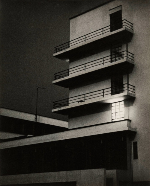 les-sources-du-nil:  Lyonel Feininger (1871-1956) Bauhaus, March 26, 1929 (Bauhaus-Archiv Berlin)