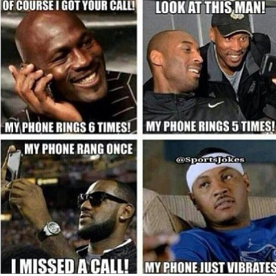 Keep them coming I guess Durant missed a call twice cause his phone was on vibrate #knicksnation