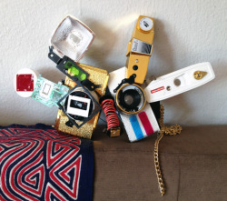 I mask I made out of a Lomography Diana camera