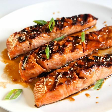 gnammygnammy:   Salmon Teriyaki Recipe