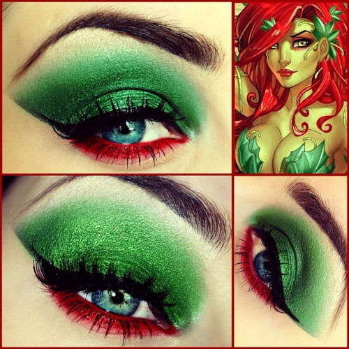 missprettyinplague:  dcu:  I consider make up such as this an art form.  ALL OF MY YES