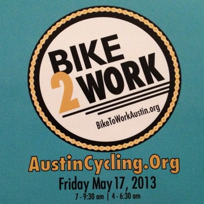 "#ATX: Remember We'll be  @Cycleast's #Bike2Work Day Support Station this Friday 5.12, 7am-9:30am. We're bringing our #Grimpeur #CoffeeDoping! Drop by at 5th & Perdenales on your way to work & say, ""Hi!"" & we'll share a cup of our #coffee goodness with you. #cycling #bikes #EveryMonthIsBikeMonth #commuters #BikeATX #RideYourBike #DrinkGreatCoffee"