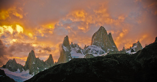 Sunrise at Fitz Roy National Park Argentina
