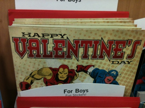 whatjanesays:  … so this is a real Valentine's Day card.