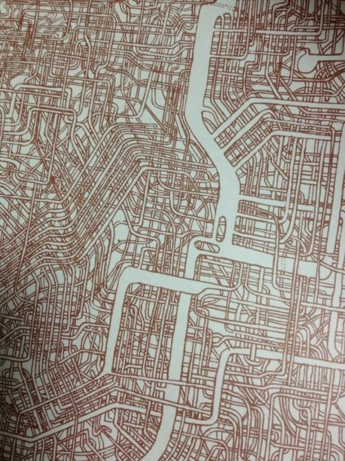 prostheticknowledge:  Hand Drawn Maze on A4 Paper Took 7 Years to Make Via Spoon and Tamago:  Some people have hobbies. Other people are obsessive. But when the two cross paths, this is what you get. Japanese twitter user @Kya7y recently unearthed an incredibly detailed maze that her father created almost 30 years ago. When pressed for details, the father explained that he spent 7 years creating the map on A1 size paper, which is about 33 x 23 inches.  More Here  I've heard of dedication to a project, but this is sort of crossing the line into a very weird place. I want to solve it so badly!