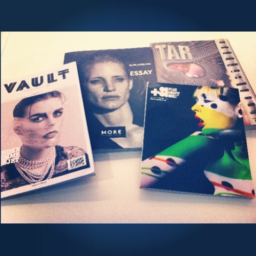 Press! VAULT Issue3 / MORE N.2 / TAR Issue N.9 / +81 Vol.60… #magazines #colettebooks #colette #colettestore