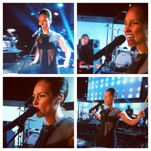 Alicia Keys arrasando no #Grammys