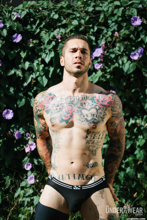 lovingmalemodels:  Alex Minsky by Gabriel Gastelum for The Underwear Expert