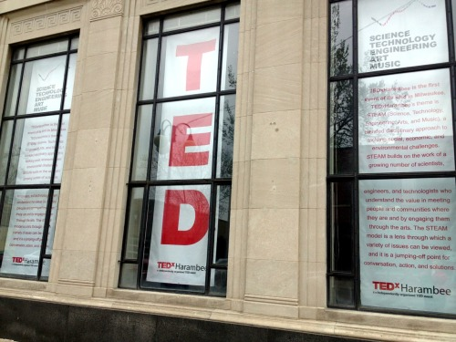 W00T! 30 minutes away from #TEDxHarambee