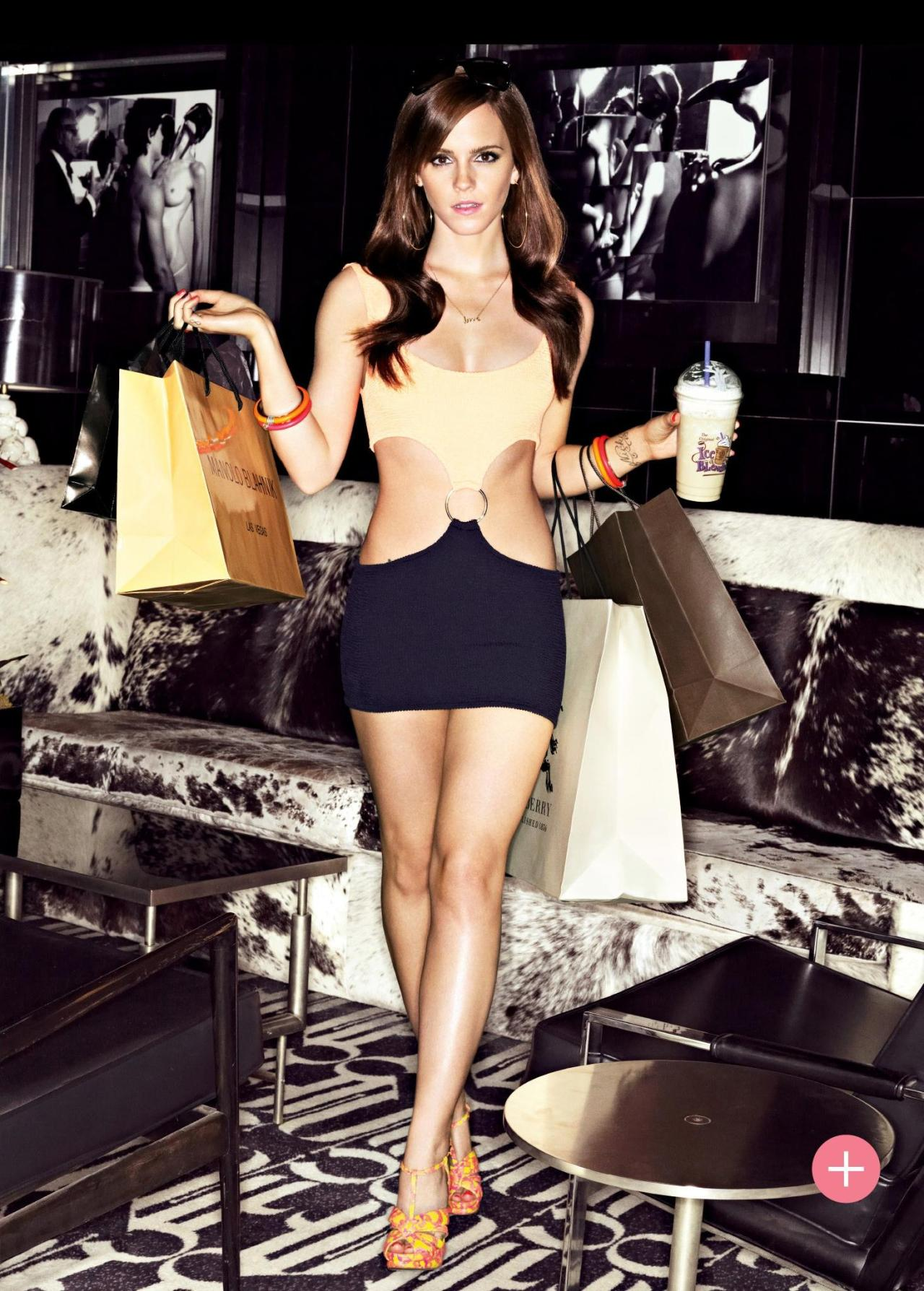 suicideblonde:  Emma Watson as Nikki in The Bling Ring, photographed by Mark Seliger for British GQ, May 2013