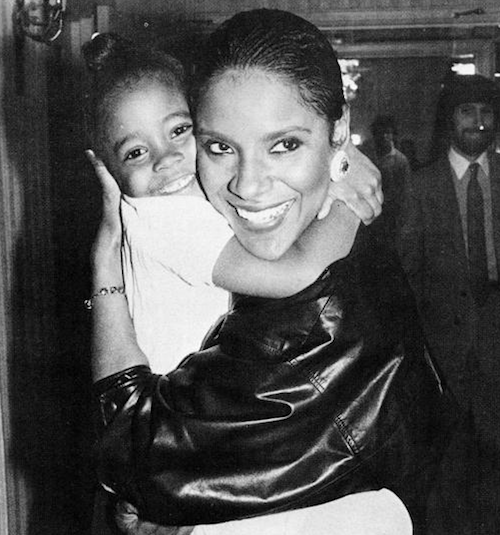 Phylicia Rashad & Keshia Knight-Pulliam (circa 1985)