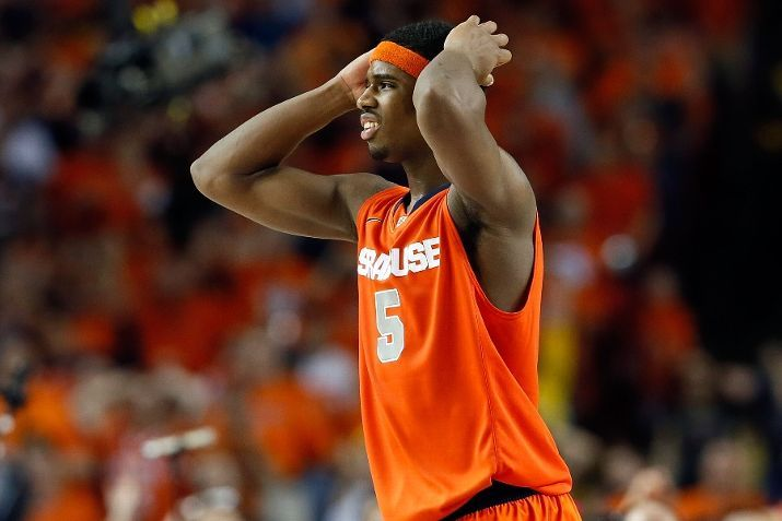 24seconds:  (via Syracuse Orange vs. Michigan Wolverines - NCAA Tournament Game - Photos - April 06, 2013 - ESPN)