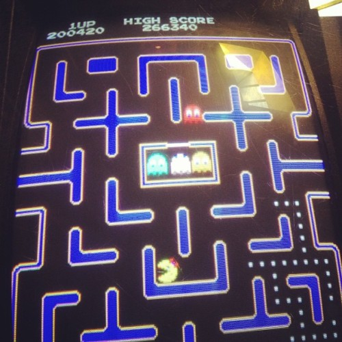 Don't think I'm a beat this hi score, but shit I came mighty close. #PacMan
