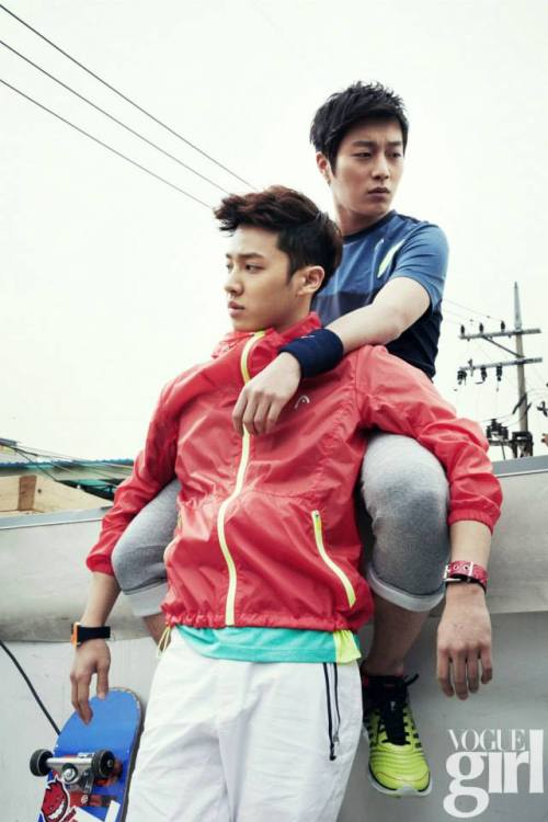thecubeunited:  BEAST for HEAD (Vogue Girl June 2013 Edition)