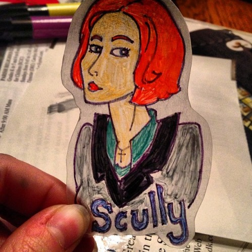 Soon my precious. Soon! #scully #everdeerart