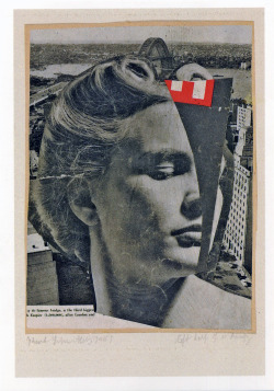 salfordskyline:  Kurt Schwitters, left half of a beauty, 1947