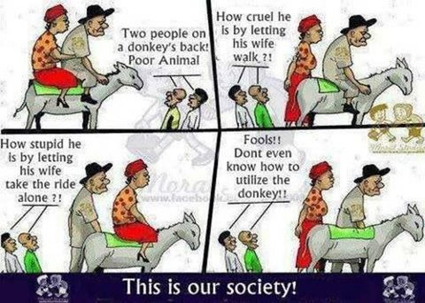 Too much truth here. Technology has made us even quicker to judge. Is it just to make ourselves feel superior? I'm not sure but it is true we tend to see the negative and almost fall over ourselves in a race to criticise. :(