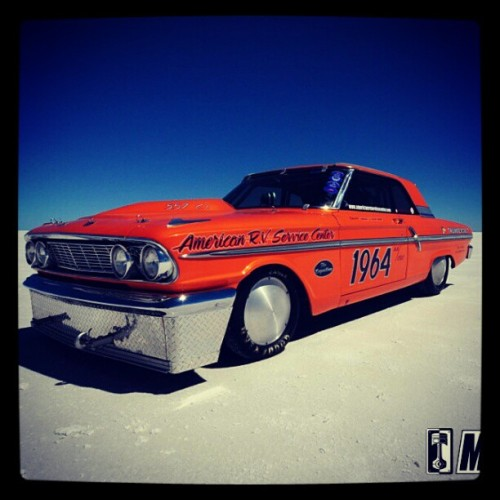 @thundersalt racing 1964 Ford Fairlane straight from #Bonneville. Welcome to instagram