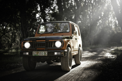 carpr0n:  Wildlife watcher Starring: Suzuki SJ410 (by Matteo Conti, Cape Town)