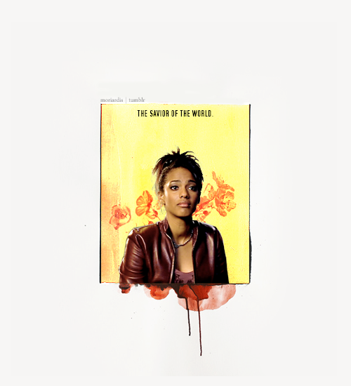 Martha Jones, the savior of the world.