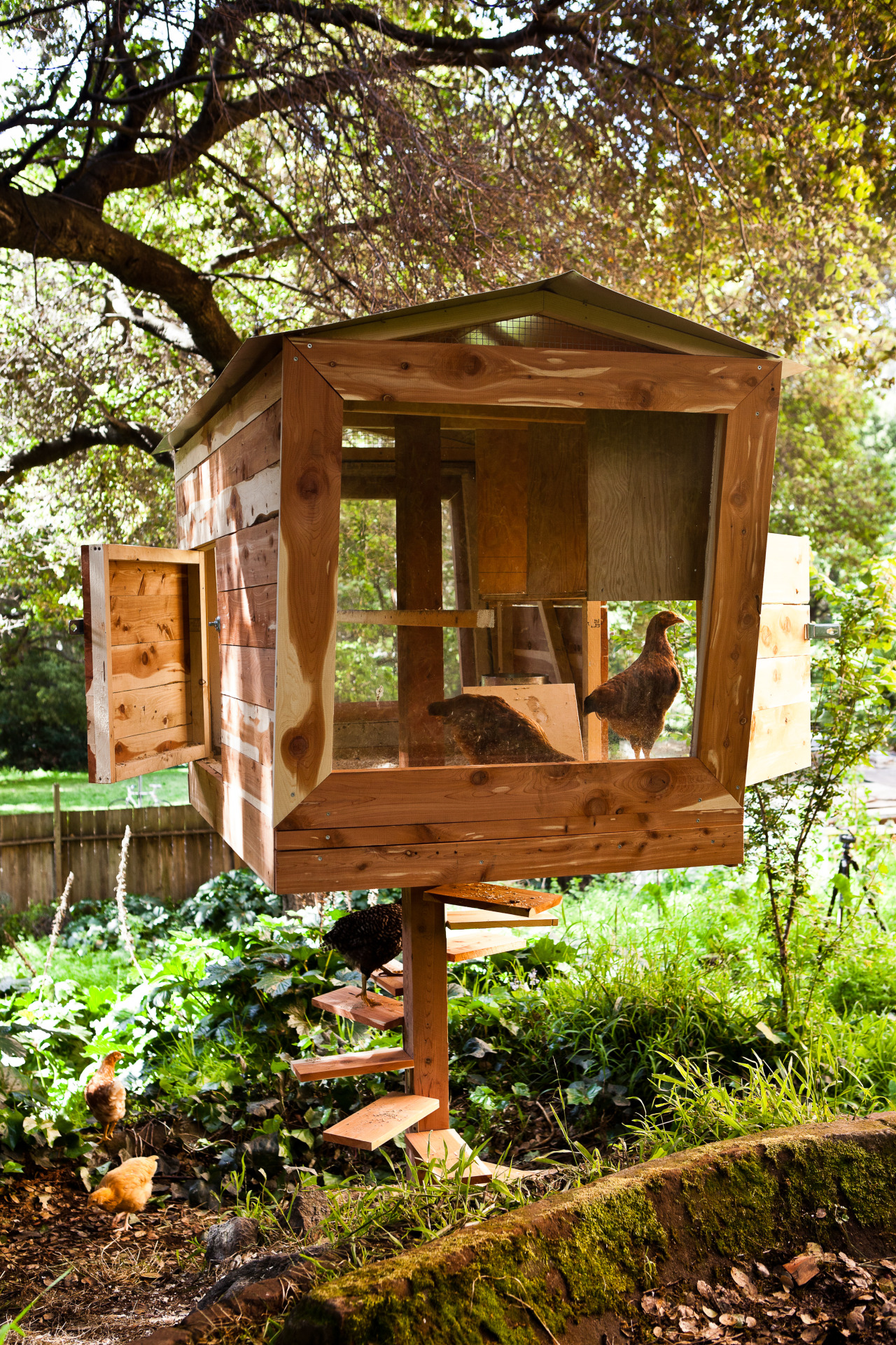 goabroadd:  cabinporn:  The Coopsicle is one of the 14 original chicken coops in the recently released book Reinventing the Chicken Coop.  can i