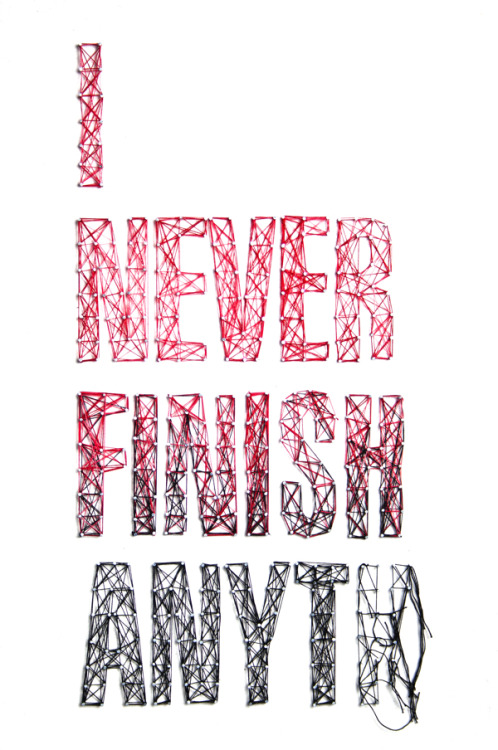 visualgraphic:  I never finish anyt…