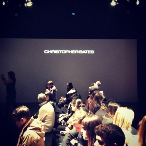 #christopherbates at #tfw yesterday #lategram #fashion #menswear (at World MasterCard Fashion Week (David Pecaut Sq))