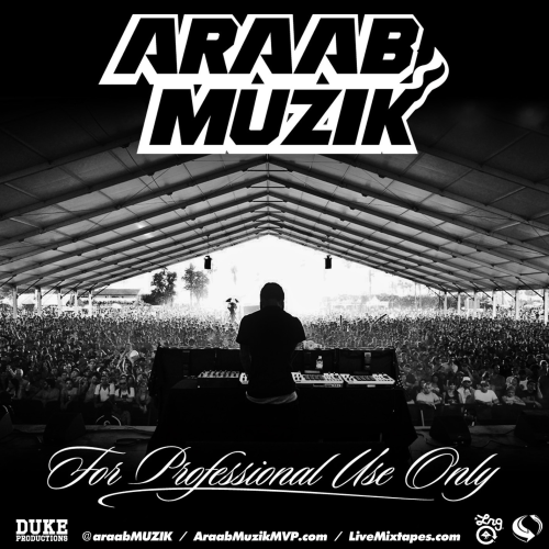 "Araab Muzik - For Professional Use Only This mixtape contains wall-to-wall block rocking beats. It's a good mix of tear-the-roof-off EDM and instrumental beat tracks with the occasional soul sample. There's more than enough bass and ""you're now listening to Araab Muzik"" samples spread throughout that your speakers never get a rest and you never forget who you're listening to. And it's always nice to know that the destructive beats you're hearing are played live, not computer generated."