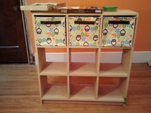 Cubbies, dresser and toy box are built and just awaiting stain.