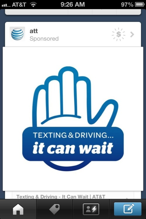 My first sponsored ad in tumblr. I came here to get away from this kind of shit. Oh well.  Nothing lasts forever!!