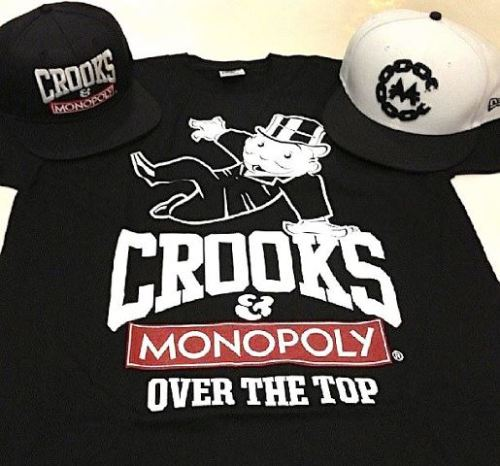 CROOKS AND CASTLES x MONOPOLY (Sneak Peek) Crooks just announced that they will reiterate their collab collection for this summer. That one will be highly-limited and available soon… Stay tuned for the official release !