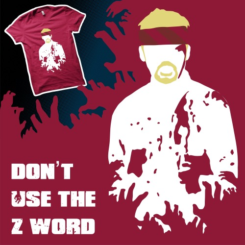 Have you bought a copy of my 'Don't Use The 'Z' Word' T-shirt design from Limiteed.com yet? If not don't worry, it's still available for another 5 hours, but after that it will be gone forever! (for that low low price at least) Don't forget that you can also find more of my work at my Tumblr page, byway.tumblr.com, my RedBubble store, www.redbubble.com/people/byway, and at my Facebook page, www.facebook.com/byway.design!