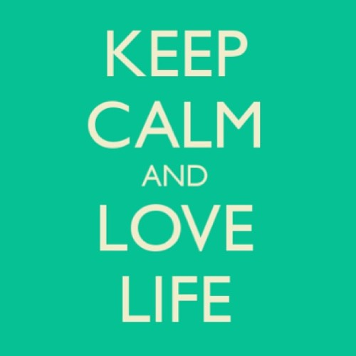 #TeamFollowBack Keep calm and love life and #FollowMe also 😀 #FollowBack #Love #Quote #Relationship #LikeForLike #Iphone #KeepCalm #Green