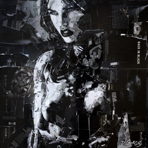 erosart:  Back in Black by Derek Gores