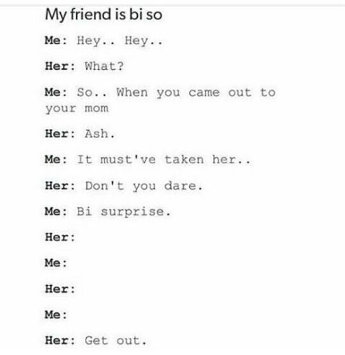 bisexual puns   Tumblr