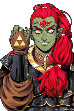 art Fanart legend of zelda ganondorf 15daysoffandom if i have one artistic consistency it's that i make everybody look like an evil supermodel at least i think so /sweats