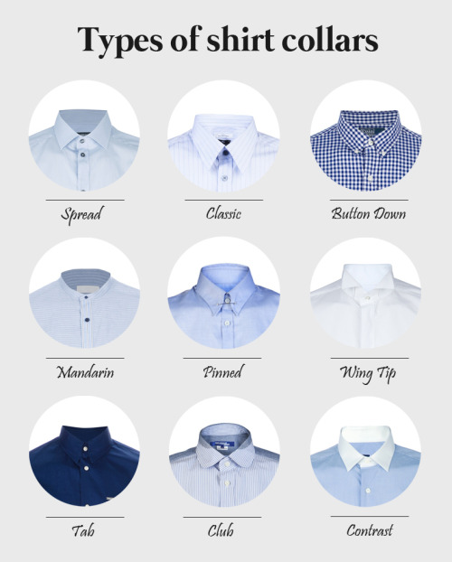 gentlemanguide:  Some of the most typical collars on this season's best designer shirts.  Learn